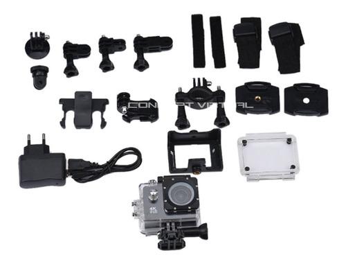 câmera filmadora 4k 1080p capacete guidão moto vlog motoboy