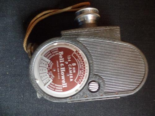 Câmera Filmadora Antiga - Bell & Howell - 134 - 8mm