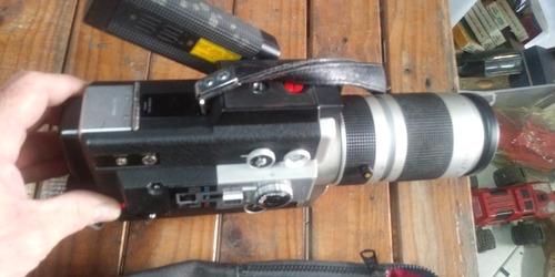 câmera filmadora canon antiga eletrônic estado não testei