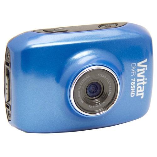 câmera filmadora de ação hd vivitar dvr785hd azul