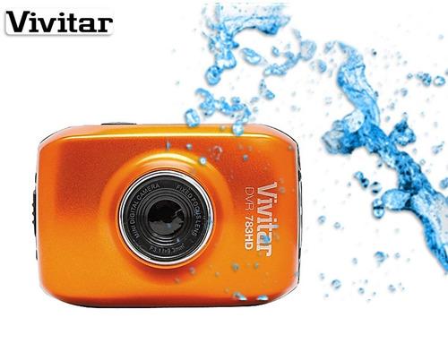 câmera filmadora esportiva vivitar hd 720p