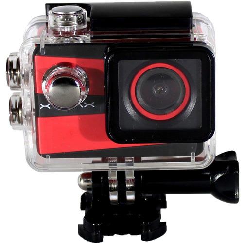 câmera filmadora esportiva xtrax smart 4k 16mp lcd 2.0 wifi