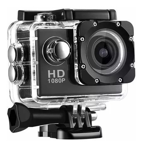 câmera filmadora estilo gopro sports full hd 1080p moto bike
