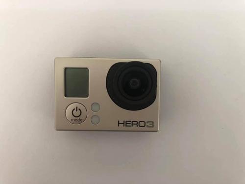 câmera filmadora gopro hero 3 black + tanque a prova d água!