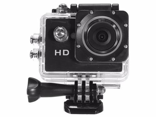 câmera filmadora hd 1080p sport stand up prova dagua mini dv