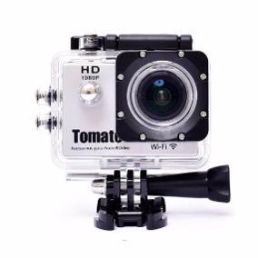 câmera filmadora hd  tomate c/wifi mt-1091w tipo gopro