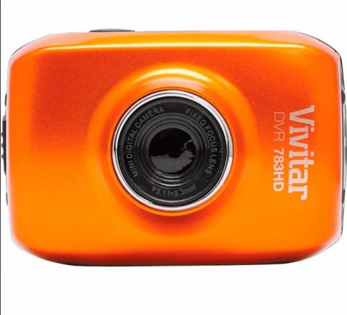 câmera filmadora hd vivitar dvr 783hd aprova agua action cam