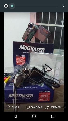 câmera filmadora multilaser