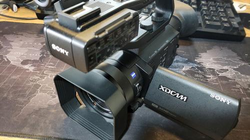 câmera filmadora sony pxw-x70 xdcam c/ upgrade 4k semi nova