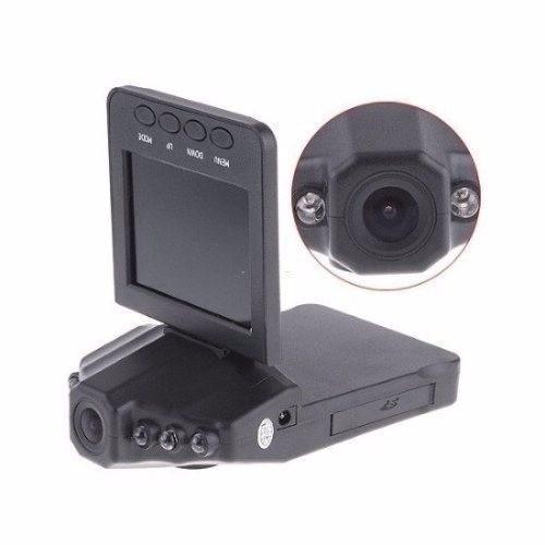 câmera filmadora veicular hd visão noturna visor frontal