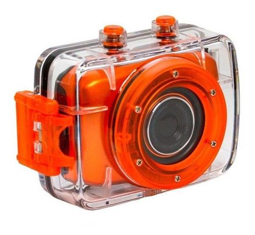 câmera filmadora vivitar de ação prova d'água hd dvr783hd