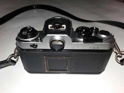 câmera fotográfica analógica nikon fe (filme)