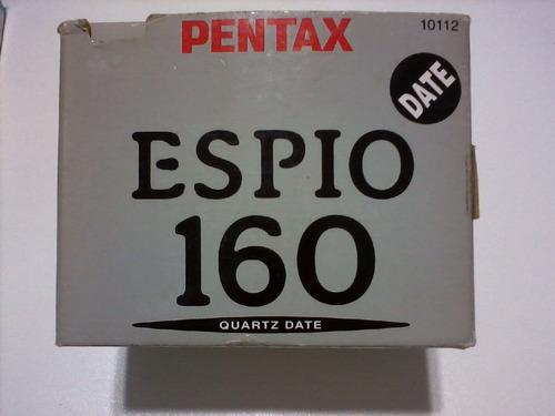 câmera fotográfica analógica pentax  espio 160
