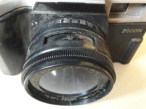 câmera fotográfica antiga 2000n flash canon leia  descrição