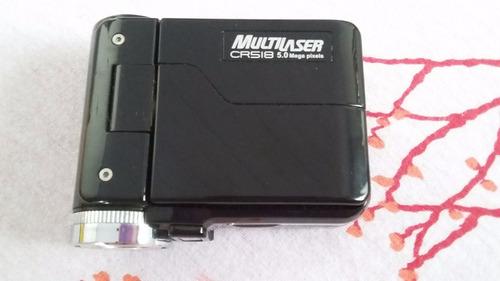 câmera fotográfica c defeitocr518  5.0 mega pxels multilaser