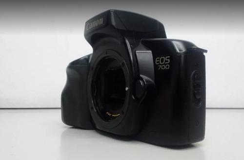 câmera fotográfica canon eos 700 corpo e alça