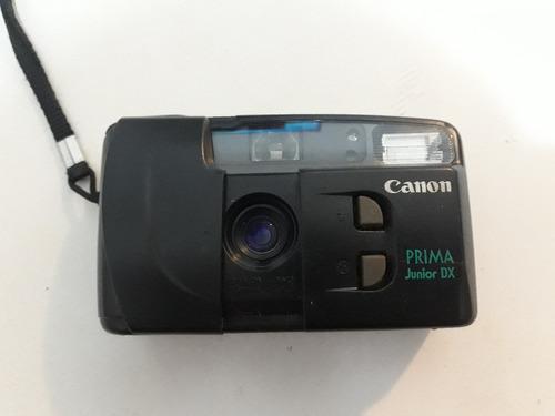 câmera fotográfica canon prima  junior dx