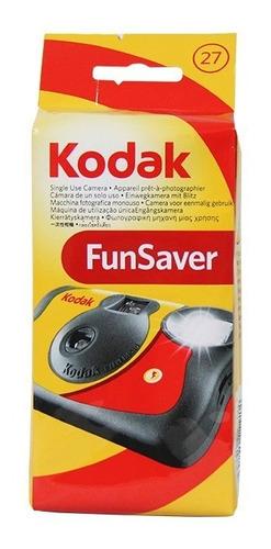 câmera fotográfica descartável kodak funsaver
