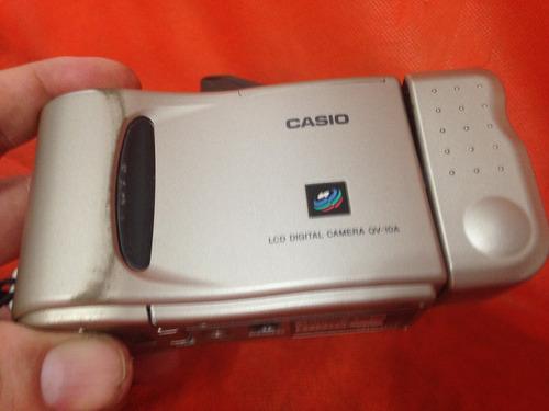 câmera fotográfica digital casio qv-10 a funcionando