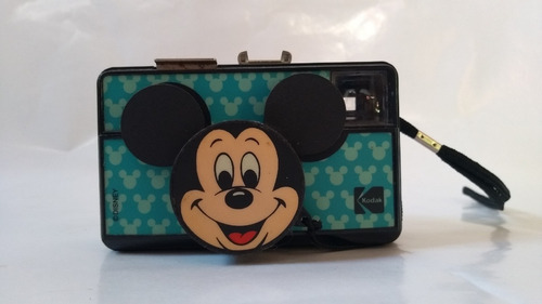 câmera fotográfica - kodak mickey mouse