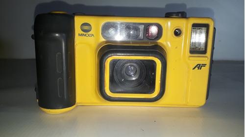 câmera fotográfica minolta weathermatic dual35 sem teste