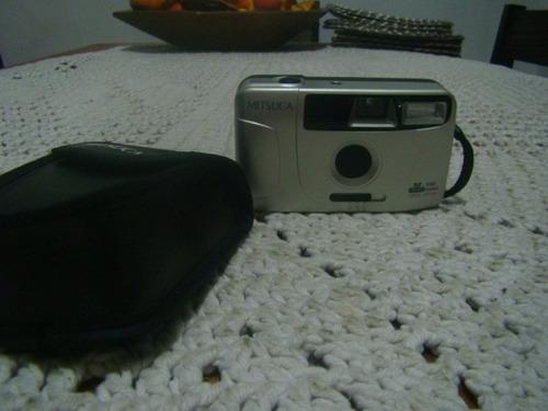 câmera fotográfica mitsuca m580 mini , analógica