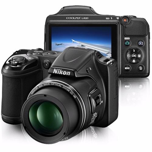 Maquina fotografica nikon l820 28