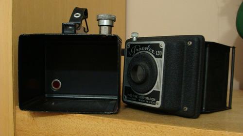 câmera fotográfica time traveler 120