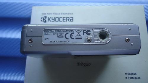 câmera fotográfica yashica digital  dz5340