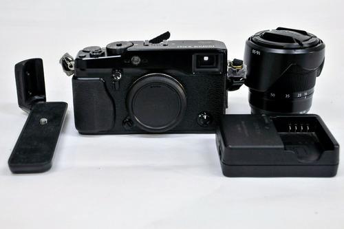 câmera fuji x-pro 1 em ótimo estado com lente 16-50