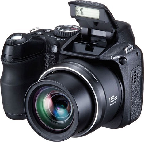 câmera fujifilm finepix s2000 hd