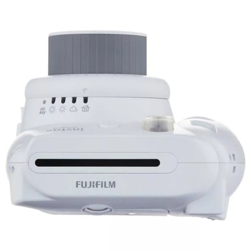 câmera fujifilm instax mini 9 - original - branco gelo