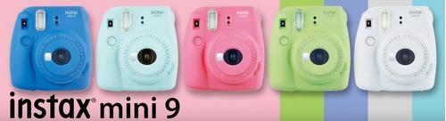 câmera fujifilm instax mini 9 verde lima