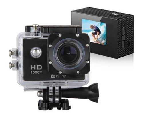 câmera go pro action camera filmadora full hd 1080p 12mp