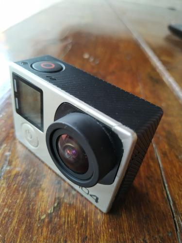 câmera go pro silver hero 4