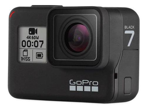 câmera gopro 7  black edition chdhx-701-lw preto