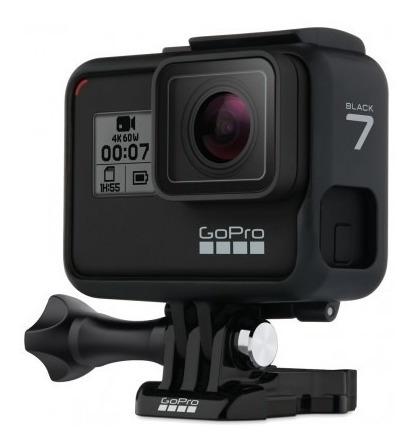 câmera gopro hero 7 black 12mp 4k  + centrigopro 360º 2.0