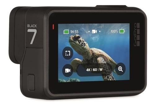 câmera gopro hero 7 black à prova dágua 12mp 4k wifi