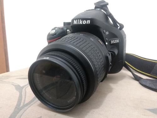 câmera hd dslr nikon d5200