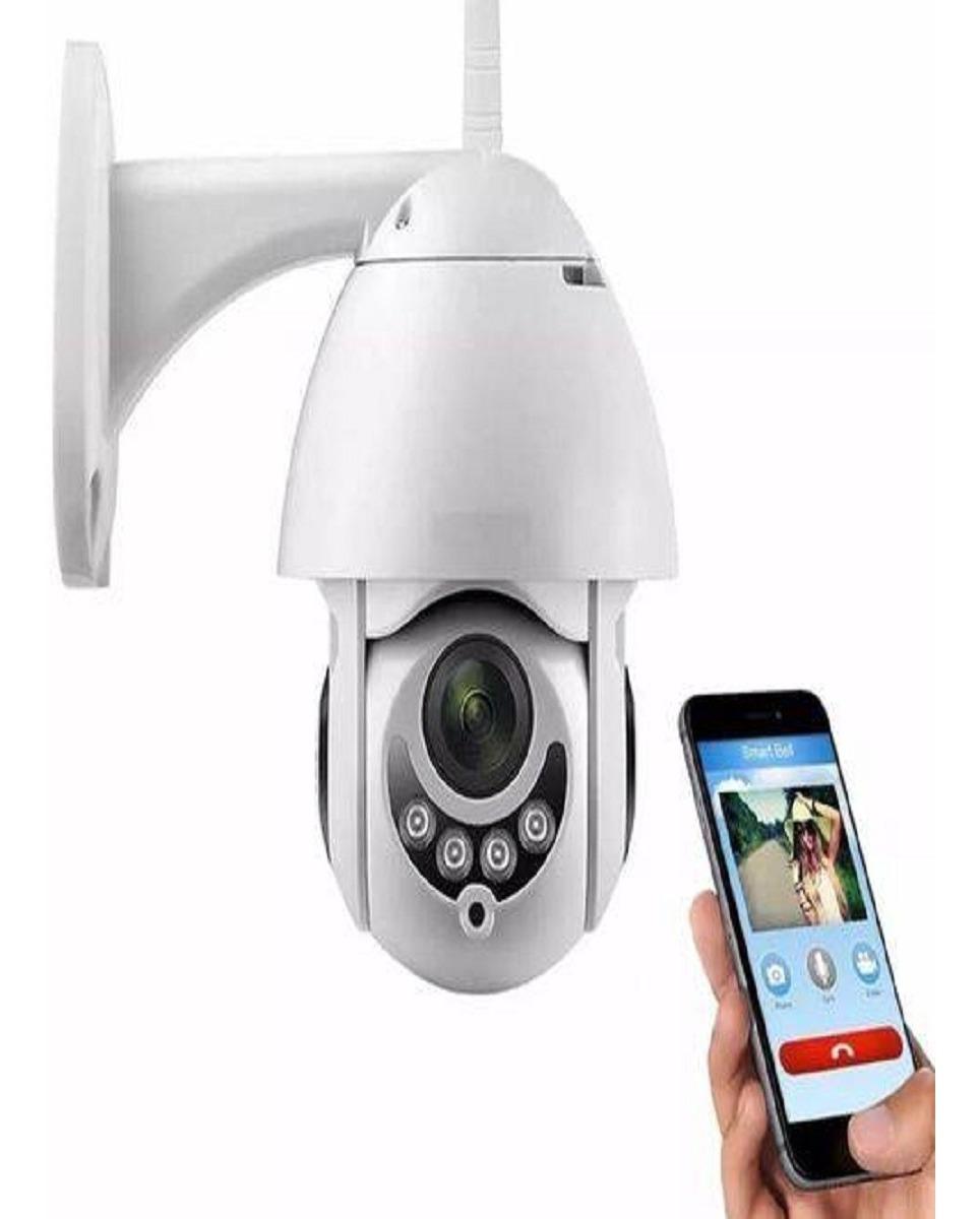 Câmera Icsee Prova D'água Infravermelho Externa Wifi Hd Top