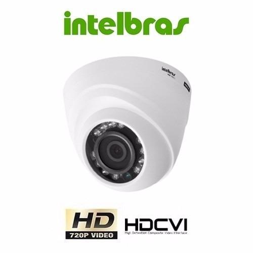 câmera infra dome hdcvi 720p ir vhd 1120d 2,8mm intelbras