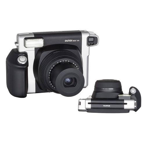 câmera inst. fujifilm instax wide 300 + filme, bolsa e tripé