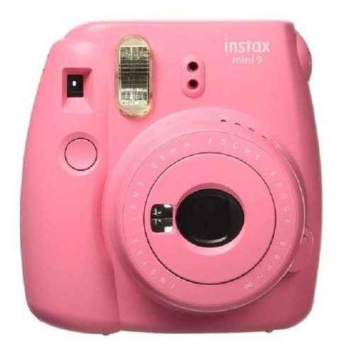 câmera instantânea fujifilm instax mini 9 pink
