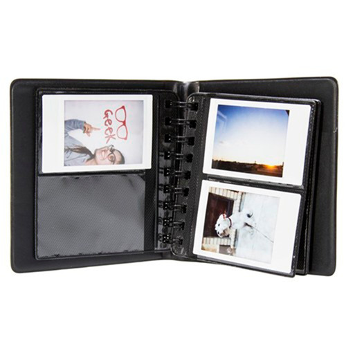 câmera instantânea instax fujifilm mini 9 aqua + album