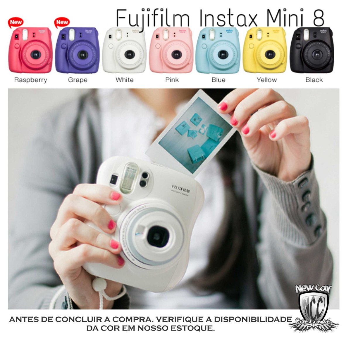Fuji polaroid camera mini 8