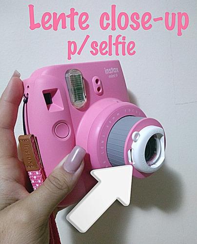 câmera instax mini 9 + 10 filmes para foto