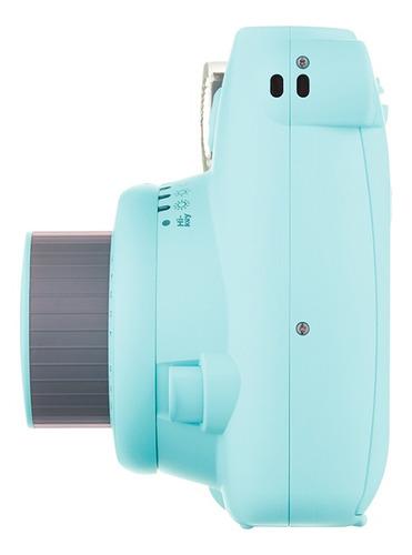 câmera instax mini 9 azul aqua nf garantia