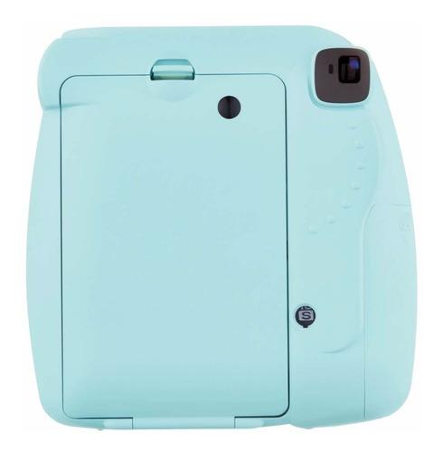 câmera instax mini 9 instantanea fujifilm azul aqua