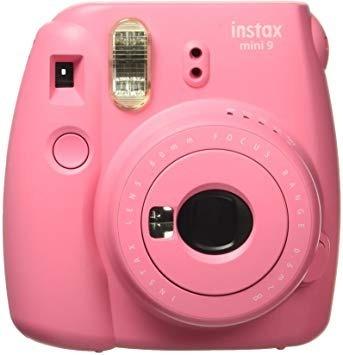 câmera instax mini fuji 9 instantânea polaroid + 10foto + nf