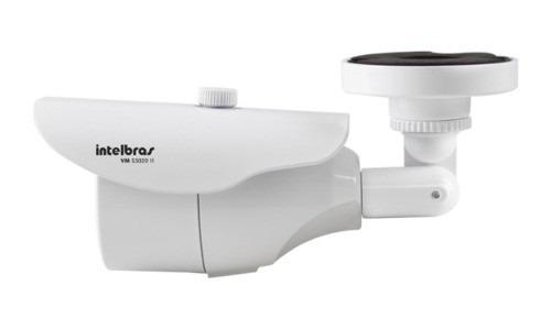 câmera intelbras 1/3 600 linhas ccd ir20 lente 3.6mm vms3020